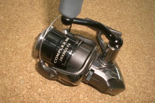 シマノ 12コンプレックスBB 2500HGS F4