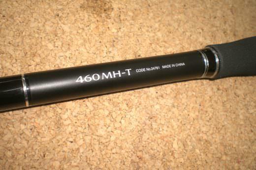 シマノ ボーダーレスBB460MH-T