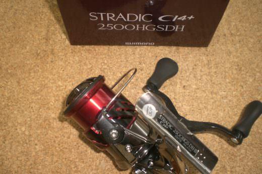 シマノ ストラディック CI4+ 2500HGSDH