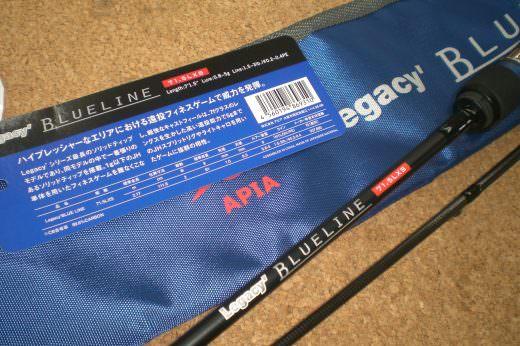 新品同様 アピア ブルーライン 71.5LX-S